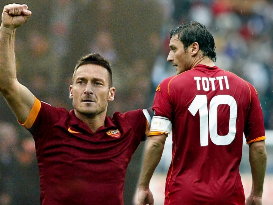 "Francesco Totti, ""Core de Roma"""