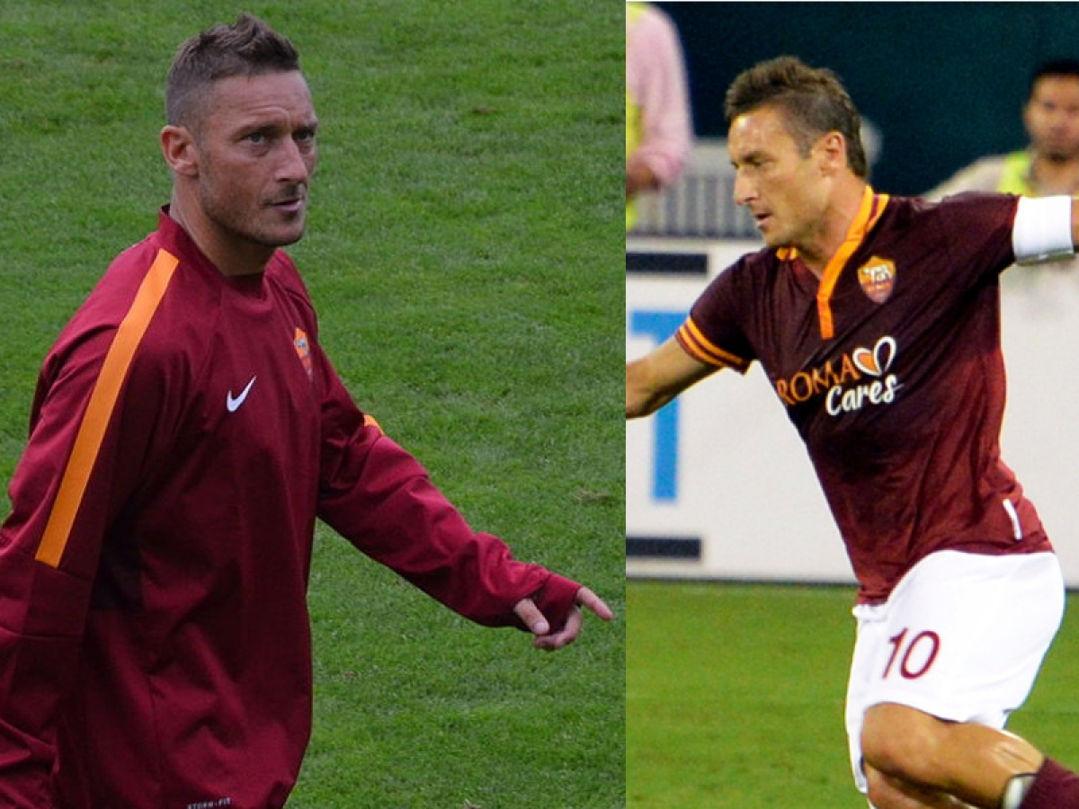 Intervista con l'artista del football: Francesco Totti, the day after