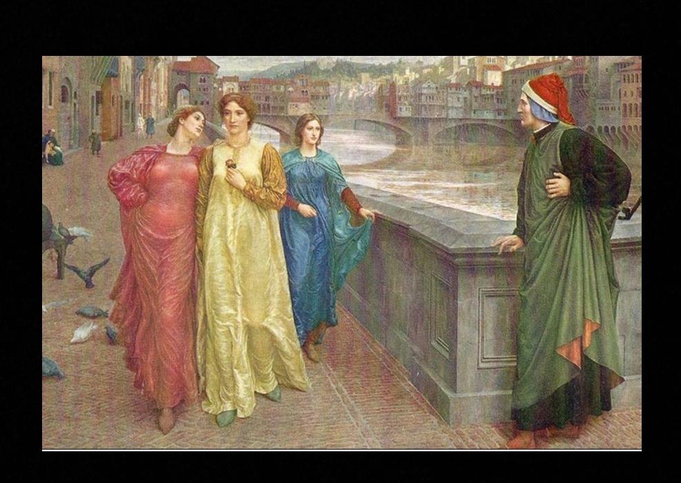 La vita di Dante: Beatrice e le prime poesie