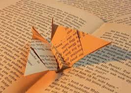 libro con origami