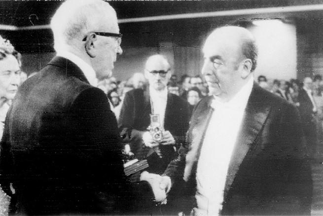 Nobel per la poesia a Neruda
