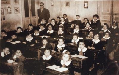 Classe primo giorno di scuola