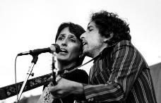 Bob Dylan con Baez