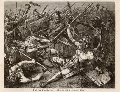 Barbari Il documentario Barbarians Spartacus