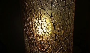 Mosaico crackle