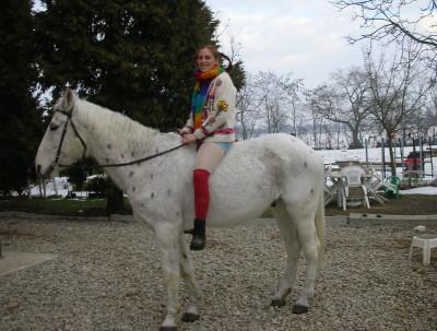 A cavallo come Pippi Calzelunghe