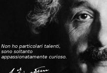 Albert Einstein: la foto, l'aquila, il passerotto e la luce.