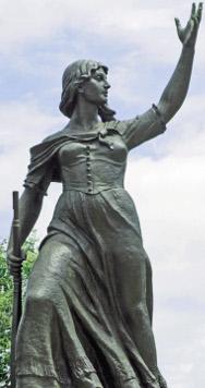 Anita Garibaldi monumento in Brasile