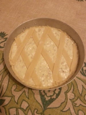 Pastiera come si decora