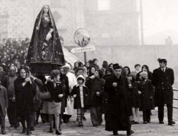 Processione Stigliano angolo della memoria Francesco Colangelo
