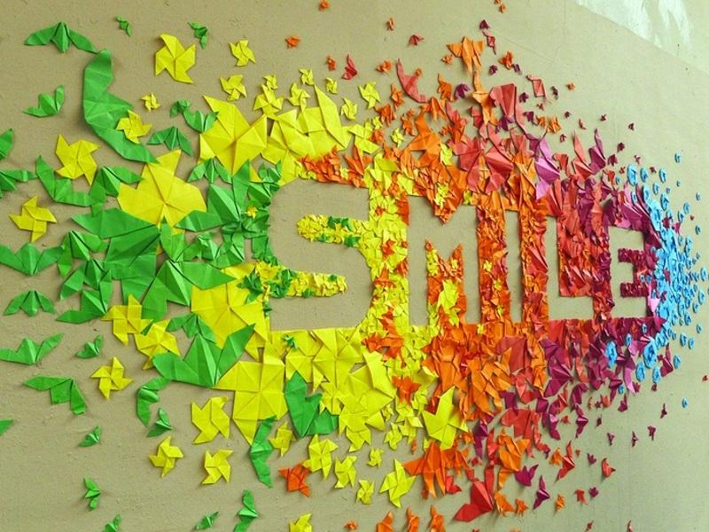 Origami: creatività, precisione e un augurio di speranza