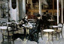 caffè e arte Conversazione al Caffè,