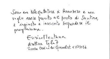 Enrico Mentana – tratto nitido – indice di razionalità