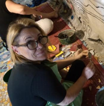 Maria de Cataldo, Costantino Buccolieri, tessere colorate e amicizia