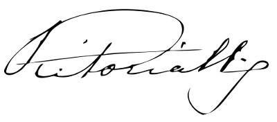 Regina Vittoria firma