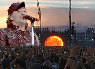 raccontando il concerto di Vasco