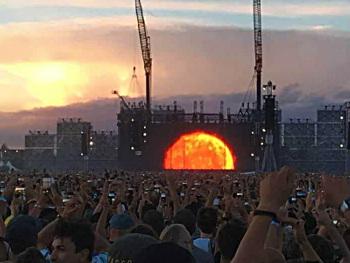 Racconto del concerto di Vasco Rossi
