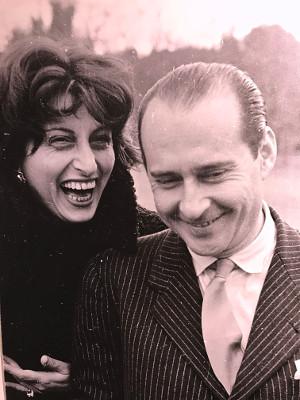 Anna Magnani e Roberto Rossellini