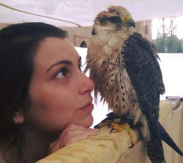 La Principessa e l'Aquila, arte della Falconeria