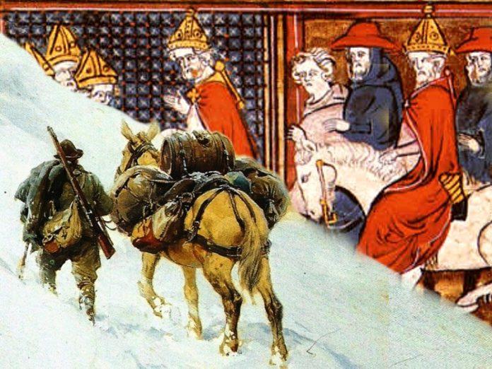 Il Papa e la Mula Bianca