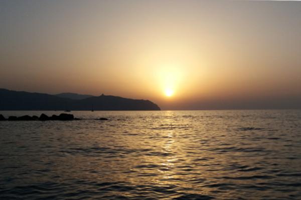 Viaggio in Sicilia tramonto a Tonnarella
