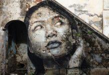 La street art di Rone: volti di donne fra bellezza e decadenza