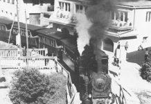 Una Locomotiva a Vapore in Alto Adige