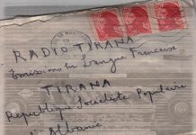 Radio Tirana lettere dal passato