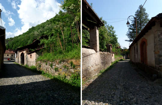 Borgofranco d'Ivrea, i Balmetti 1 strade