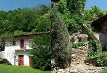 Borgofranco d'Ivrea, i Balmetti e il paese con la montagna che respira