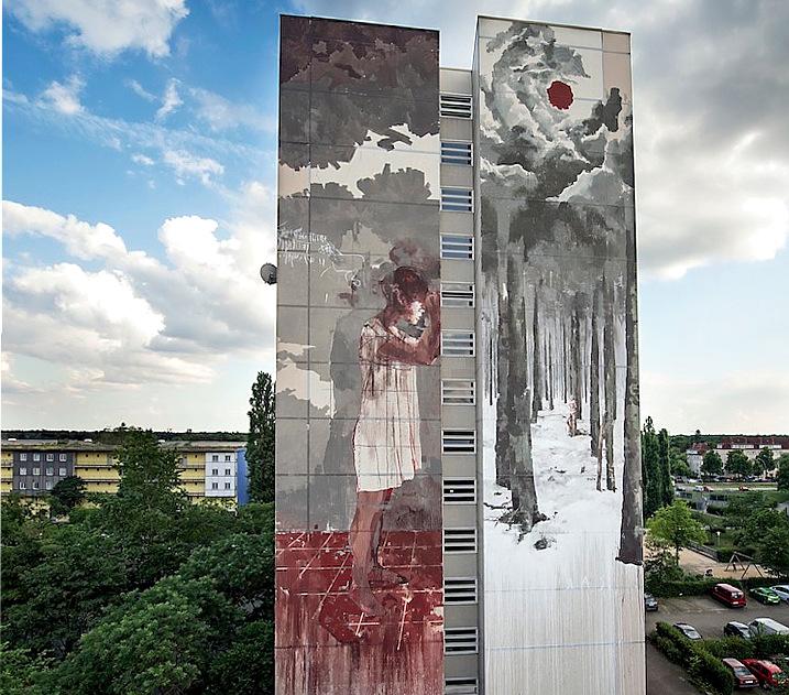Gonzalo Borondonel quartiere di Tegel a Berlino