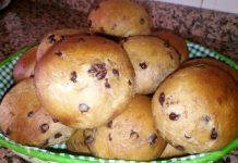 Pangoccioli Integrali all'olio di oliva senza zucchero
