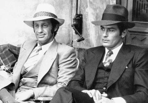 Alain Delon e Jean Paul Belmondo