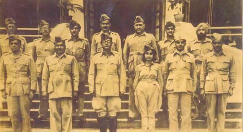Saraswathi Rajamani nell'esercito