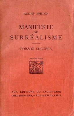 André Breton, Manifesto del Surrealismo