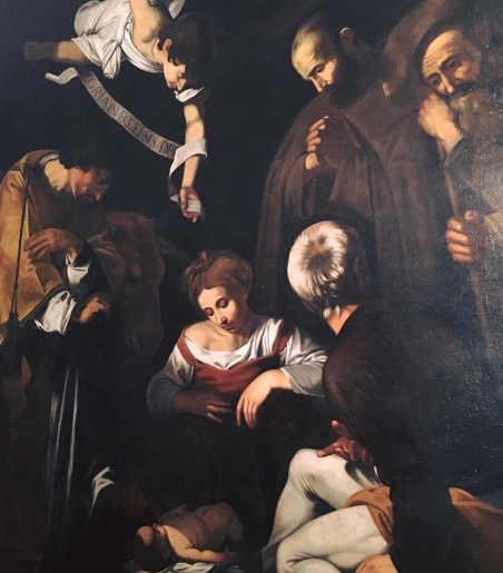 Natività con i Santi Caravaggio