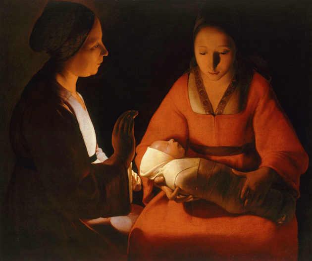 Il neonato di Georges La Tour