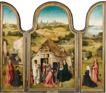 Il Trittico dell'Adorazione dei Magi di Hieronymus Bosch