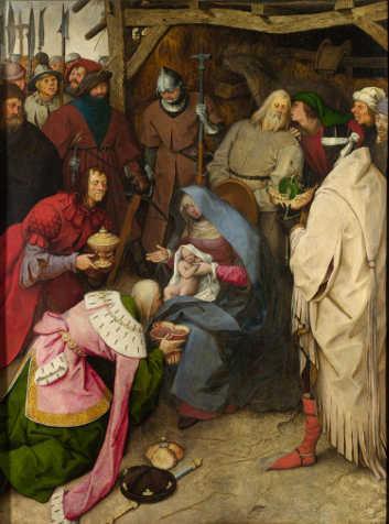 L'Adorazione dei Magi di Pieter Bruegel il Vecchio