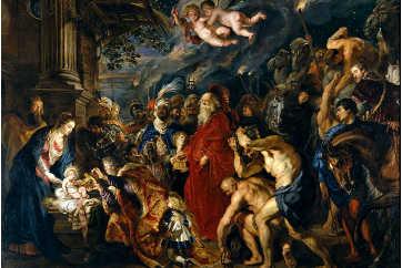 L'adorazione dei Magi Peter Paul Rubens