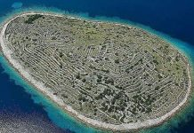 L'isola a forma di impronta digitale: Baljenac