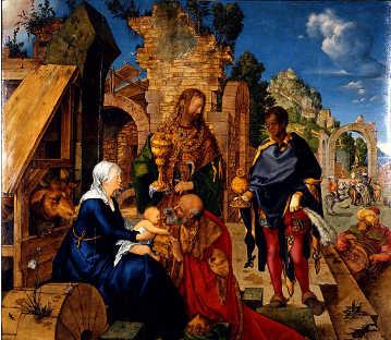 L'Adorazione dei Magi di Albrecht Dürer
