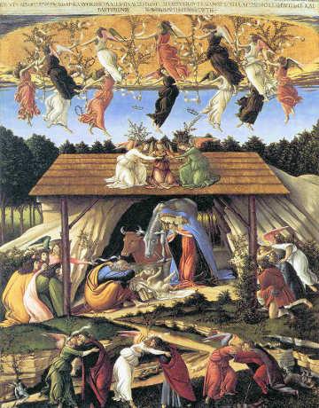 Natività mistica Boticcelli
