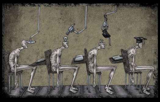 Al Margen distruzione e istruzione