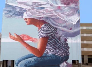 Fintan Magee street artist australiano
