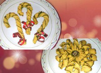 Fiori e caramelle natalizie integrali