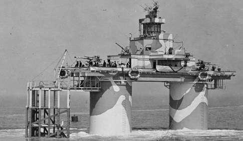 Torri di Maunsell della Marina