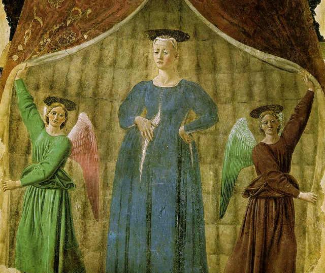 Opere della Storia dell'arte sulla Natività: La Madonna del parto di Piero della Francesca