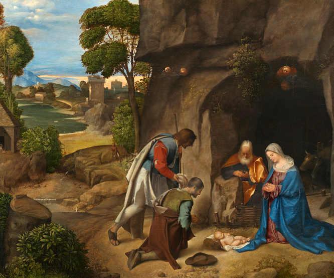 La Natività Allendale di Giorgione