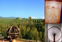 Una passeggiata a Vinci, nei luoghi dell'impossibile Leonardo